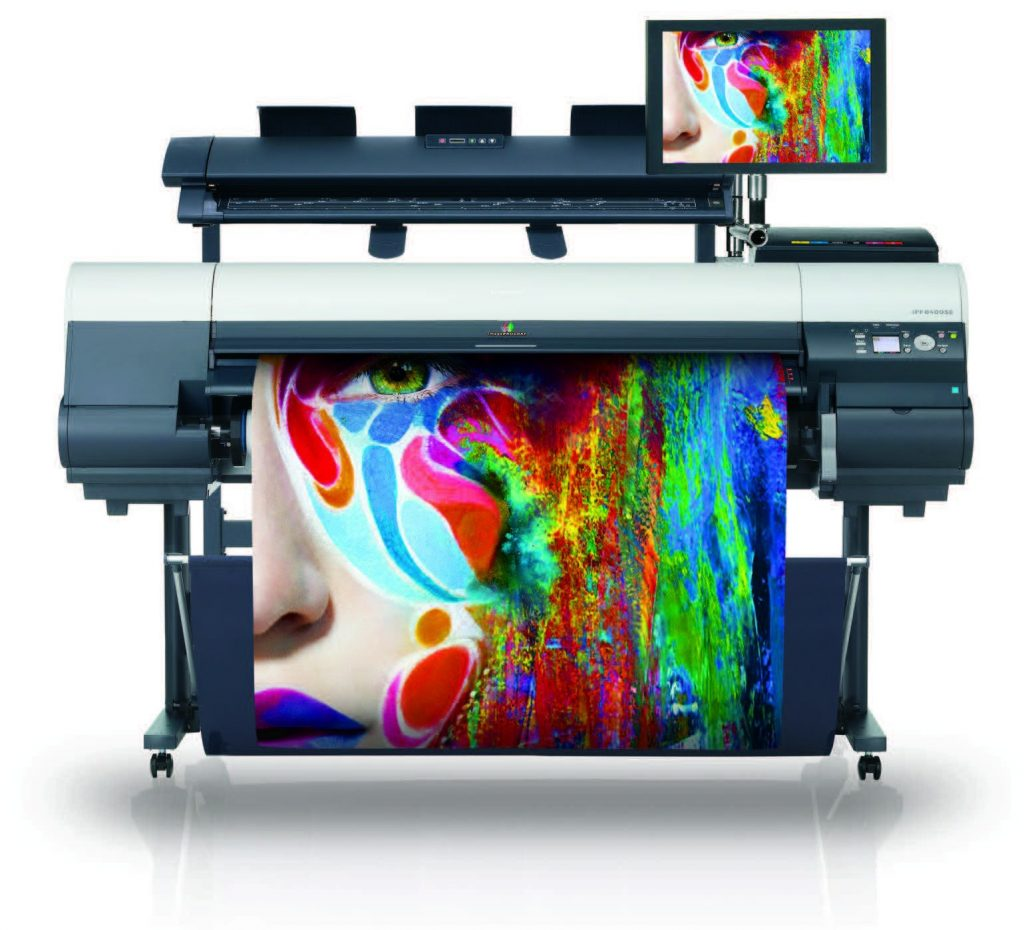 large format printer for printing services